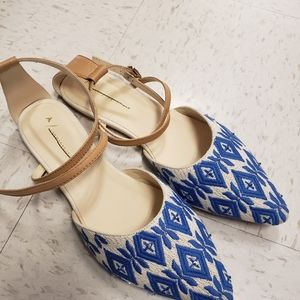 Anthropologie Pointed Sandal